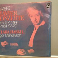 Mozart - Piano Concert KV 466/491 - C.HASKIL(1974/PHILIPS/RFG) - VINIL/Impecabil - Muzica Clasica universal records