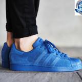 "ADIDASI ORIGINALI 100% Adidas Superstar "" Blue edition"" nr 39;44.5 - Adidasi barbati, Marime: 39 1/3, 44 2/3, Culoare: Din imagine"