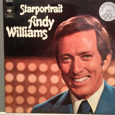 ANDY WILLIAMS - STARPORTRAIT 2LP SET(1972/CBS/RFG) - VINIL - Muzica Pop Columbia