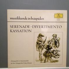 MOZART/HAYDN - SERENATA KV 239/DIVERTIMENTO (1968/POLYDOR/RFG) - VINIL/Impecabil, deutsche harmonia mundi