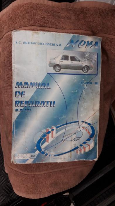 MANUAL DE REPARATII MR 523  DACIA NOVA , EDITIA A III A