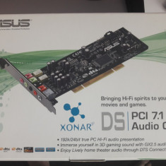 ASUS Xonar DS - Placa de sunet PC