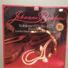 Brahms - Violin Concert D-dur, op 77 (1962/Phonogram/RFG) - VINIL/Impecabil/Rar - Muzica Clasica universal records