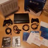 PlayStation 3 Super Slim cu Garantie 24.09.2017 - SONY PS3 2 controllere jocuri