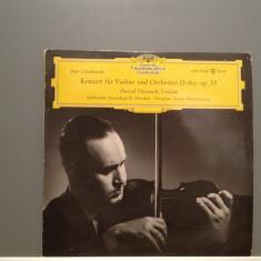 TSCHAIKOWSKY - CONCERT FOR VIOLIN(1959/Deutsche Grammophon/RFG) -VINIL/Impecabil, deutsche harmonia mundi