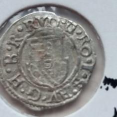 1 denar 1602 Regatul Ungariei Rudolf II 1.8.0, Europa, Argint