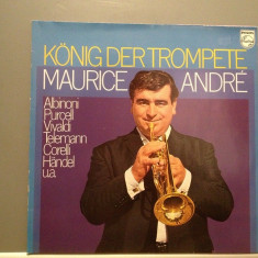 Maurice Andre - King of Trumpet:Albinioni/Purcell -2LP(1967/PHILIPS/RFG) - VINIL - Muzica Clasica universal records