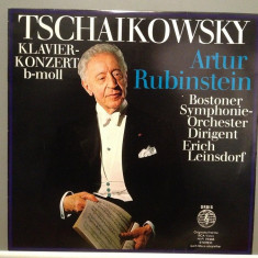 TSCHAIKOWSKY - CONCERT FOR PIANO -A.RUBINSTEIN(1969/ORBIS /RFG) -VINIL/Impecabil - Muzica Clasica rca records