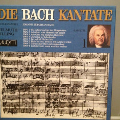 Bach - Cantate BWV 1- 8 -4LP BOX Deluxe(1981/LAUDATTE/RFG) - VINIL/Impecabil/Rar - Muzica Clasica Altele