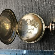 Ceas vechi de buzunar, defect - Ceas de buzunar vechi