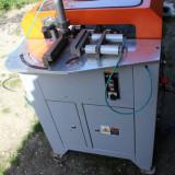 Utilaj automat freza PVC si aluminiu functioneaza la 220 sau 380