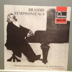 Brahms - Symphony no 4 - (1967/Fontana/Holland) - VINIL/Impecabil/Rar - Muzica Clasica universal records