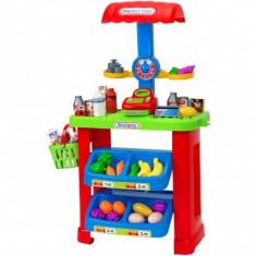 Stand Cu Alimente Fructe Si Legume Globo Cu Casa De Marcat Pentru Copii