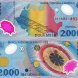 ROMANIA 2.000 lei 1999 polymer UNC!!! - Bancnota romaneasca