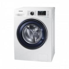 Masina de spalat rufe Samsung WW80J5545FW/LE EcoBubble 8 kg 1400 RPM Clasa A+++ Alb, 1300-1500 rpm, A+++