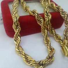 Lant Barbati dublu placat aur 24k Cod produs: LM 1 - Lantisor placate cu aur