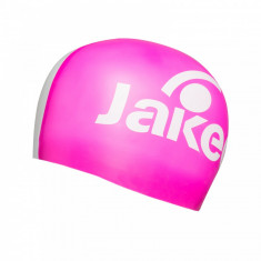 Casca inot Jaked adult, ELITE, roz/alb