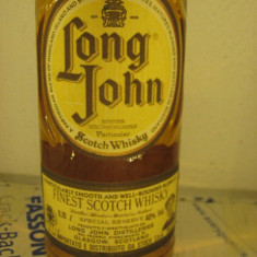 Whisky LONG JOHN, PARTICULAR FINEST SCOTCH WHISKY cl 70 GR 40 SPECIAL RESERVE