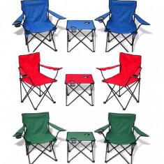 Set camping masa si scaune - masa camping