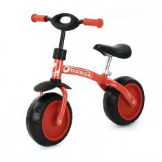 Bicicleta Fara Pedale Super Rider 10 - Rosu - Bicicleta copii