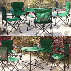 Set camping masa si 4 scaune - masa camping