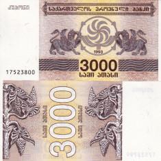 GEORGIA 3.000 lari 1993 UNC!!!