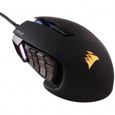 Mouse gaming Corsair Scimitar PRO RGB Black, USB, Optica
