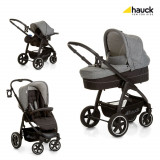 Set Carucior Soul Plus Trio Set Melange Grey/Caviar, Hauck