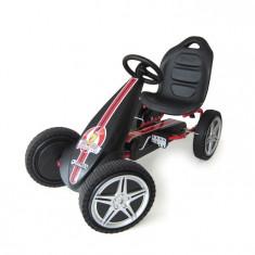 Go Kart Hurricane - Rosu - Kart cu pedale