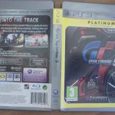 Gran Turismo 5 PLATINUM - PS3 [B] - Jocuri PS3, Curse auto-moto, 3+, Multiplayer