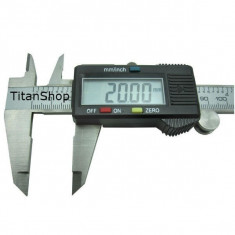 Subler digital inox 0 - 150mm PRECIZIE 0, 01 + baterie rezerva