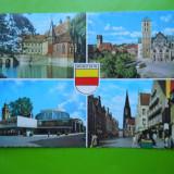 HOPCT 32313 MUNSTER/W GERMANIA -STAMPILOGRAFIE -KRUGER -CIRCULATA, Printata