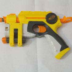 Pistol NERF Nite Finder EX-3 - tinta laser - 3 cartuse incluse - Pistol de jucarie nerf, 6-8 ani, Plastic, Unisex