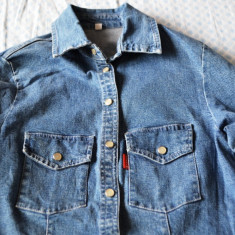 Camasa blugi dama ITALY marimea S/M / Camasa jeans dama ITALY / Camasa denim S/M, Denim Republic