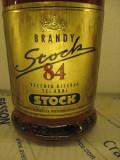 BRANDY STOCK 84, VECCHIA RISERVA 6 ANNI, L. 1 GR. 38  ANI 70/80   arhiva Okazii.ro