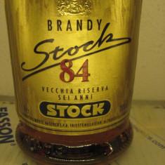 BRANDY STOCK 84, VECCHIA RISERVA 6 ANNI, L. 1 GR. 38 ANI 70/80 - Cognac