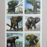 R. GUINEEA - ELEFANTI, 2002, 1 M/SH, NEDANT., NEOBLIT., - RG 7, Fauna