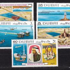 Dubai 1969 export MI 357-361 MNH w45 - Timbre straine, Nestampilat