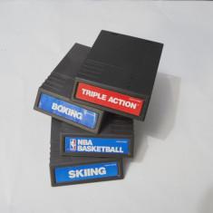 Lot 4 jocuri casete Mattel Intellivision Altele, Actiune, Toate varstele, Single player