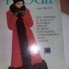 Revista MODA, 1968, 1969, 1970, 1971, 1976, primavara, vara, iarna, reviste de colectie