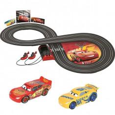 Jucarie Pista Circuit Cars 3 Carrera First cu 2 masini - Masinuta Disney