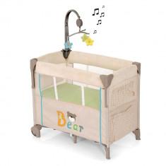 Pat Bebelusi Dream'n Care Center - Bear - Patut pliant bebelusi Hauck