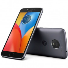 Smartphone Motorola Moto E4 Dual Sim, 5 Inch, Quad Core, 2 GB RAM, 16 GB, Retea 4G, Android Nougat, Gri - Telefon Motorola