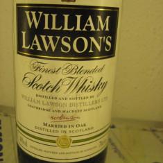 Whisky WILLIAM LAWSONS, FINEST BLENDED SCOTCH MARRIER IN OAK, cl 70 GR 40