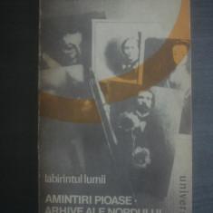 MARGUERITE YOURCENAR - AMINTIRI PIOASE. ARHIVE ALE NORDULUI - Roman