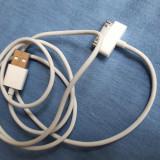 Cablu iPhone 4 iPod Original APPLE  (date & incarcare) ca nou