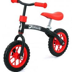 Bicicleta fara Pedale E-Z Rider 10 Black Red - Bicicleta copii
