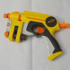 Pistol NERF Nite Finder EX-3 - tinta laser - 3 cartuse incluse, 6-8 ani, Plastic, Unisex