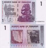 ZIMBABWE 1 dollar 2007 UNC!!!