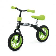 Bicicleta fara Pedale E-Z Rider 10 Black Green - Bicicleta copii
